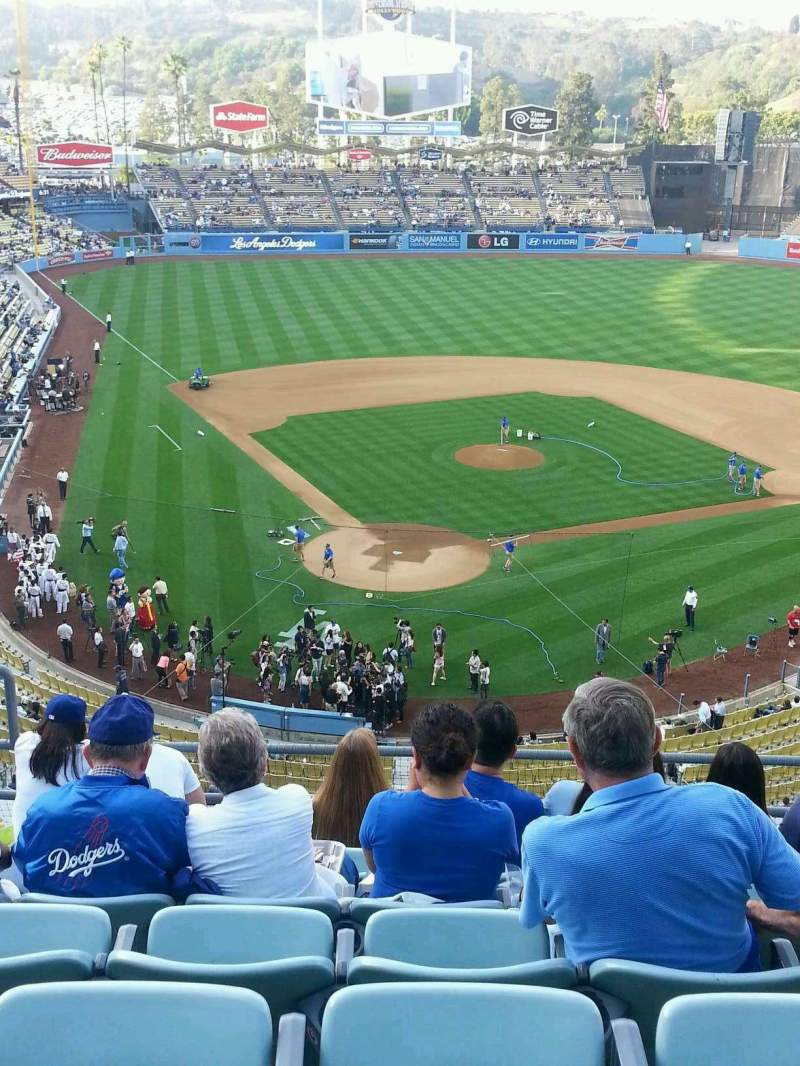 Seating view for Dodger Stadium Section 4RS Row G Seat 5