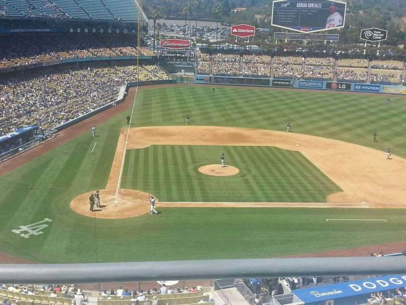 Seating view for Dodger Stadium Section 8RS Row B Seat 15