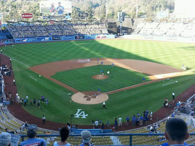 Seating view for Dodger Stadium Section 2RS Row F Seat 9