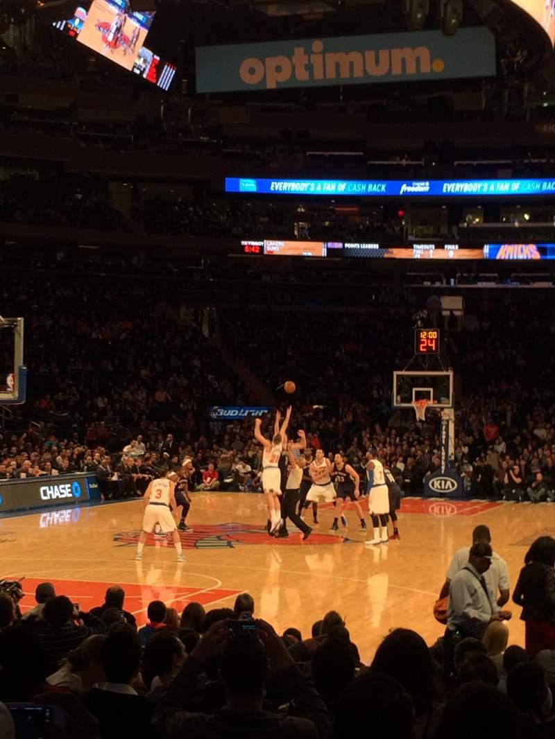 Madison Square Garden: Madison Square Garden, Section 9, Home Of New York Rangers