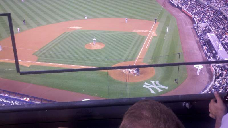 Seating view for yankee stadium Section 321 Row 2 Seat 19