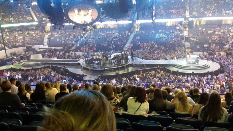Seating view for Allstate Arena Section 202 Row n