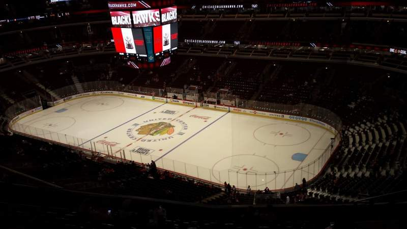 Seating view for United Center Section 314 Row 14