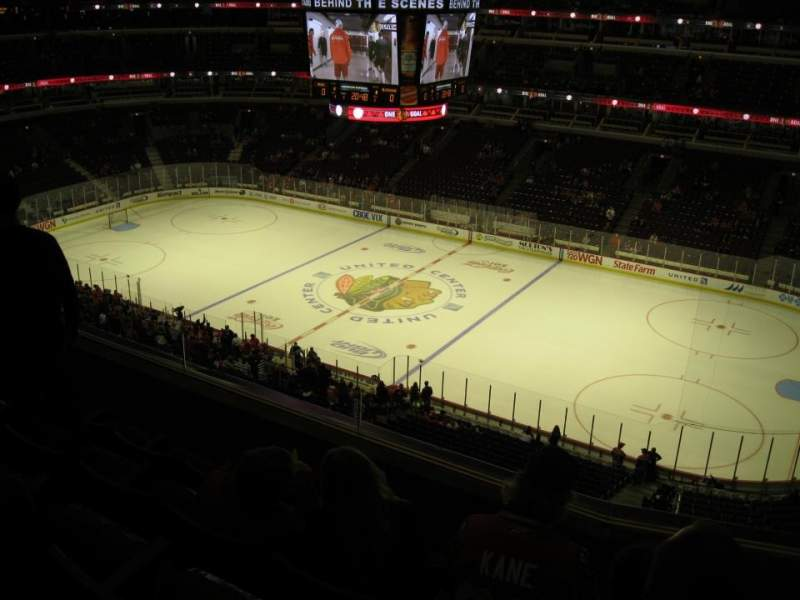 Seating view for United Center Section 315