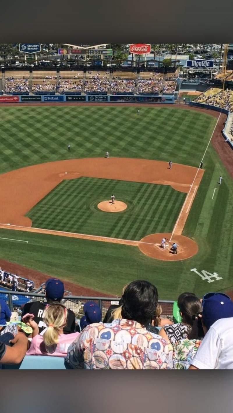 Dodger Stadium, section: 7TD, row: M, seat: 11