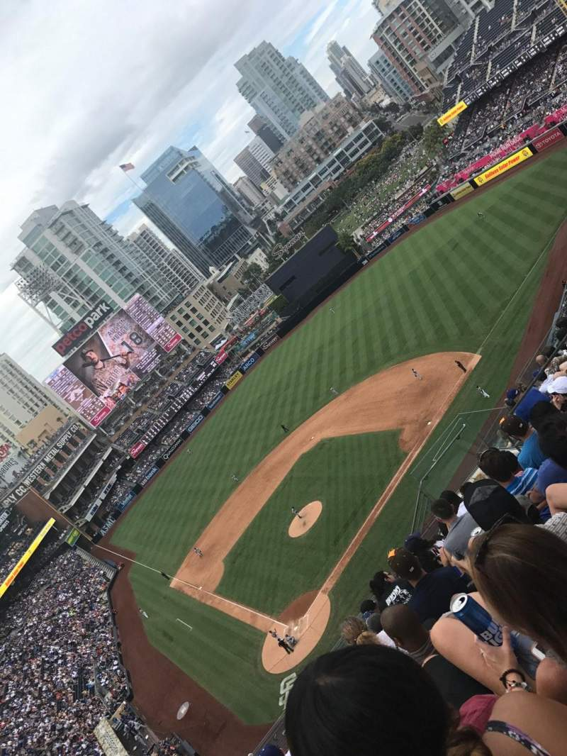Seating view for PETCO Park Section 305 Row 18 Seat 12