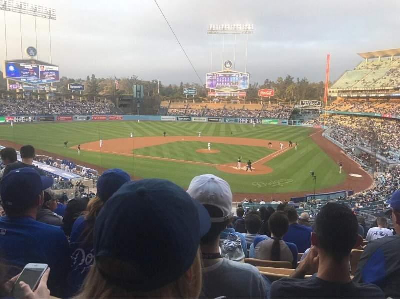 Dodger Stadium, section: 111LG, row: L, seat: 4