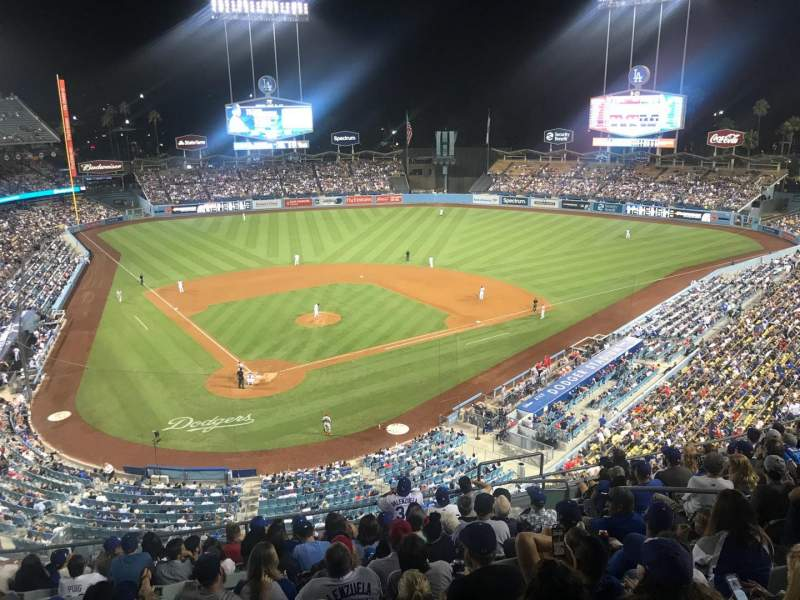 Seating view for Dodger Stadium Section 4RS Row L Seat 11