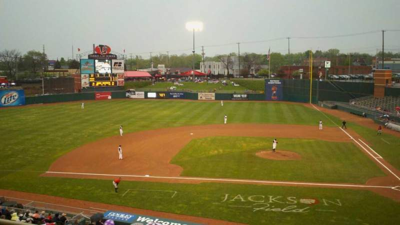 Seating view for Cooley Law School Stadium Section skybox