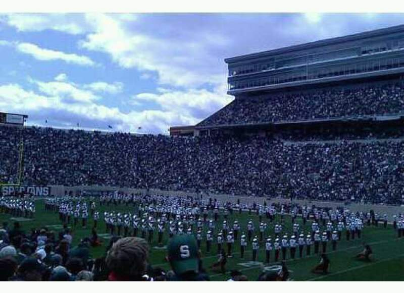 Seating view for Spartan Stadium Section 6