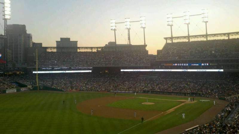 Seating view for Comerica Park Section Suite 248