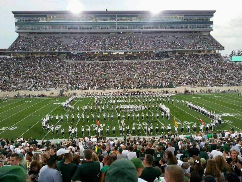 Seating view for Spartan Stadium Section 9 Row 41 Seat 15