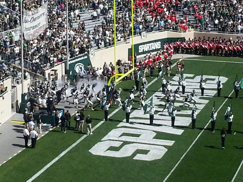 Seating view for Spartan Stadium Section c10 Row 10 Seat 4