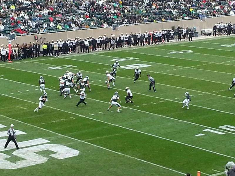 Seating view for Spartan Stadium Section 28 Row 45 Seat 27