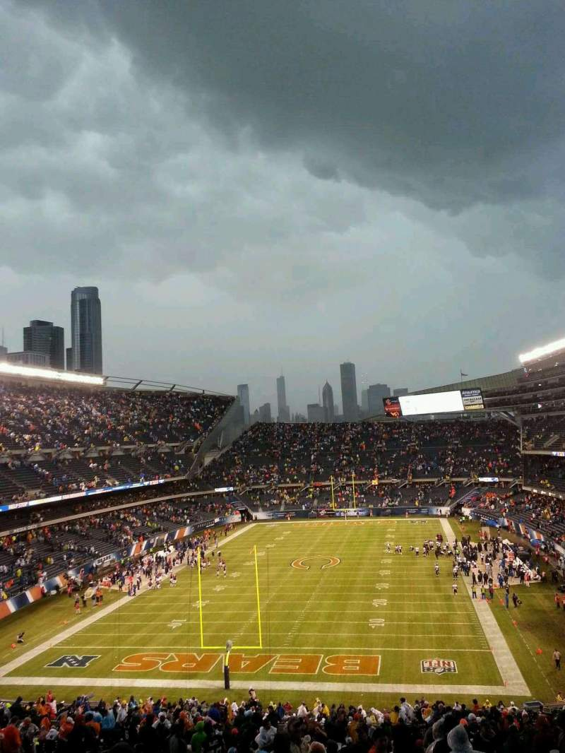 Seating view for Soldier Field Section 321 Row 15 Seat 19
