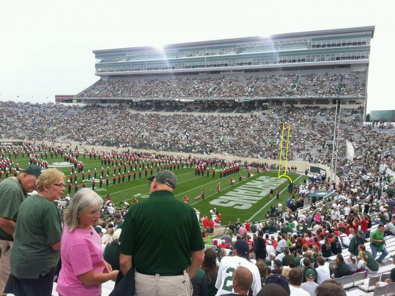 Seating view for Spartan Stadium Section 5 Row 41 Seat 25