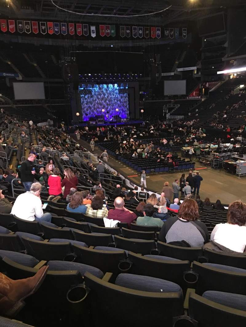 Seating view for Nationwide Arena Section 111 Row U Seat 8