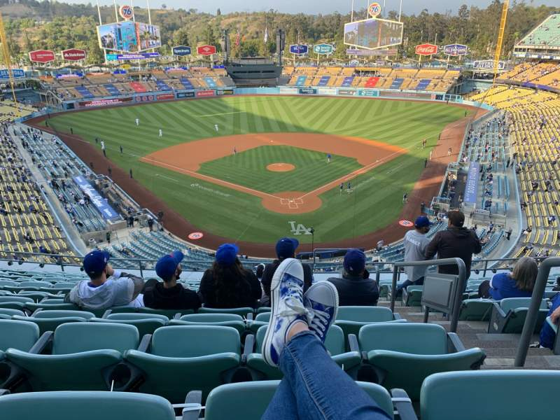 Seating view for Dodger Stadium Section 3RS Row M Seat 2