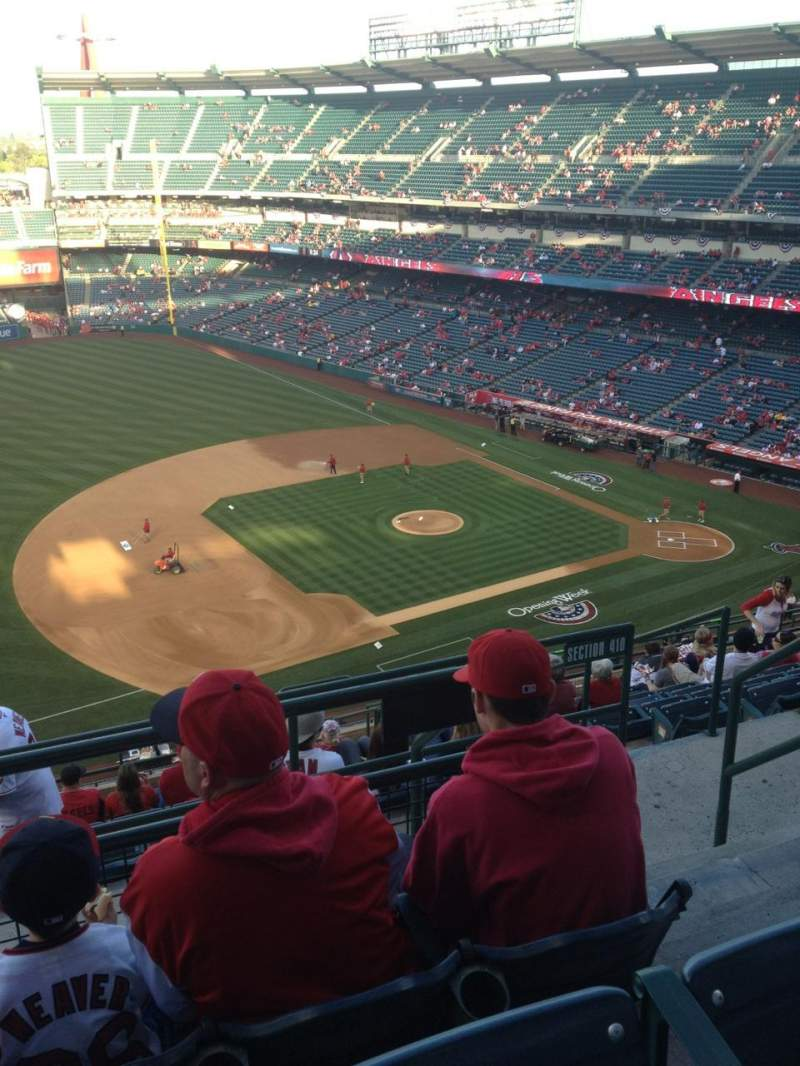 Seating view for Angel Stadium Section V511 Row C Seat 23