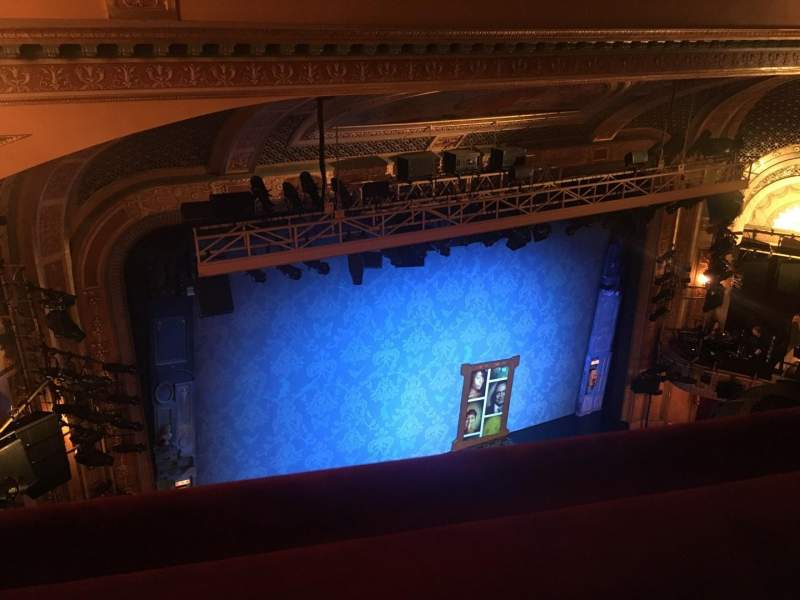 Seating view for Walter Kerr Theatre Section Balcony L Row A Seat 29