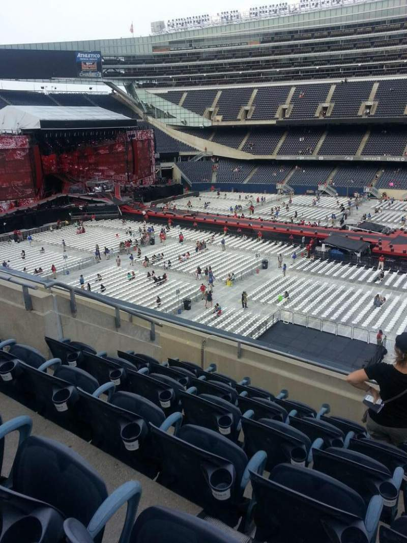 Seating view for Soldier Field Section 336 Row 6 Seat 11-12