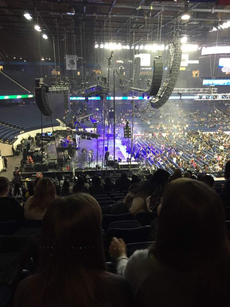 Seating view for Allstate Arena Section 204 Row N Seat 11