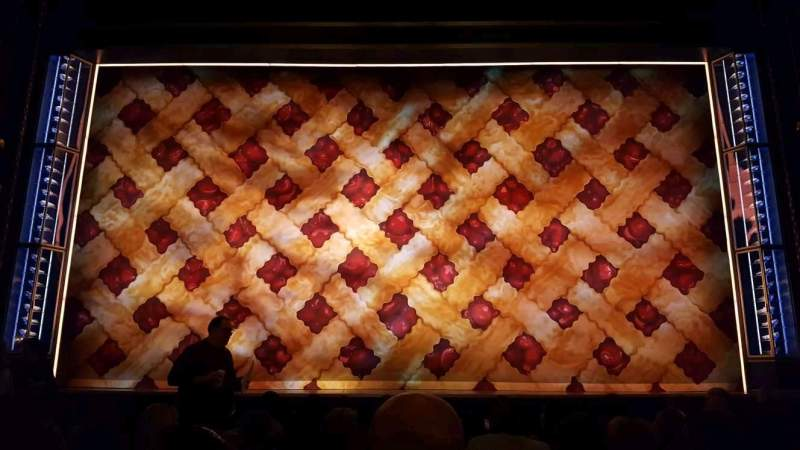 Seating view for Brooks Atkinson Theatre Section Orchestra C Row h Seat 108