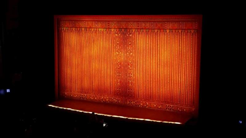 Seating view for Hollywood Pantages Theatre Section mezz Row f Seat 2