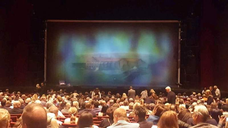 Seating view for San Diego Civic Theatre Section dress circle Row a Seat 6