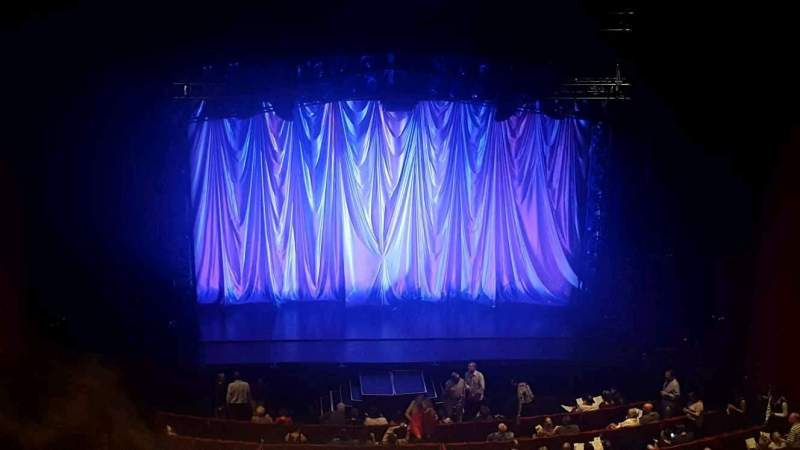 San Diego Civic Theatre, section: balc, row: p, seat: 7