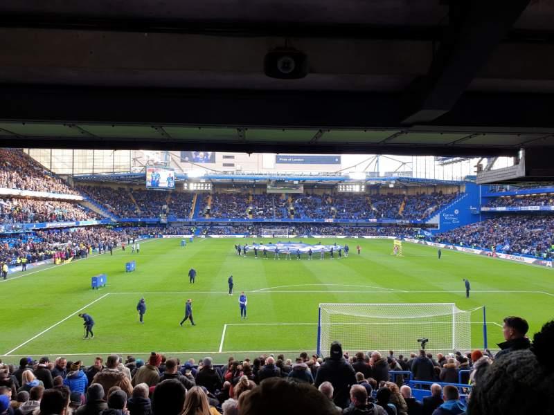 Seating view for Stamford Bridge Section Matthew Harding Lower Row DD Seat 97
