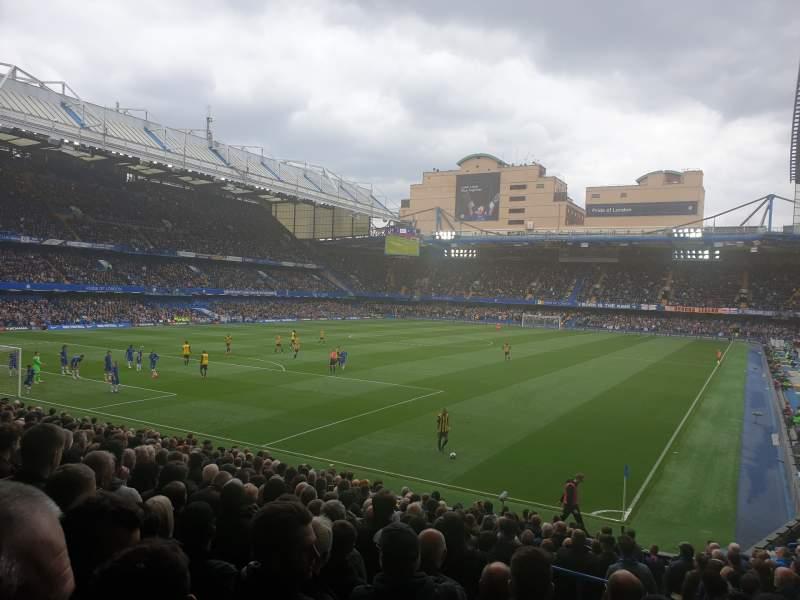 Seating view for Stamford Bridge Section Matthew Harding Lower Row X Seat 321