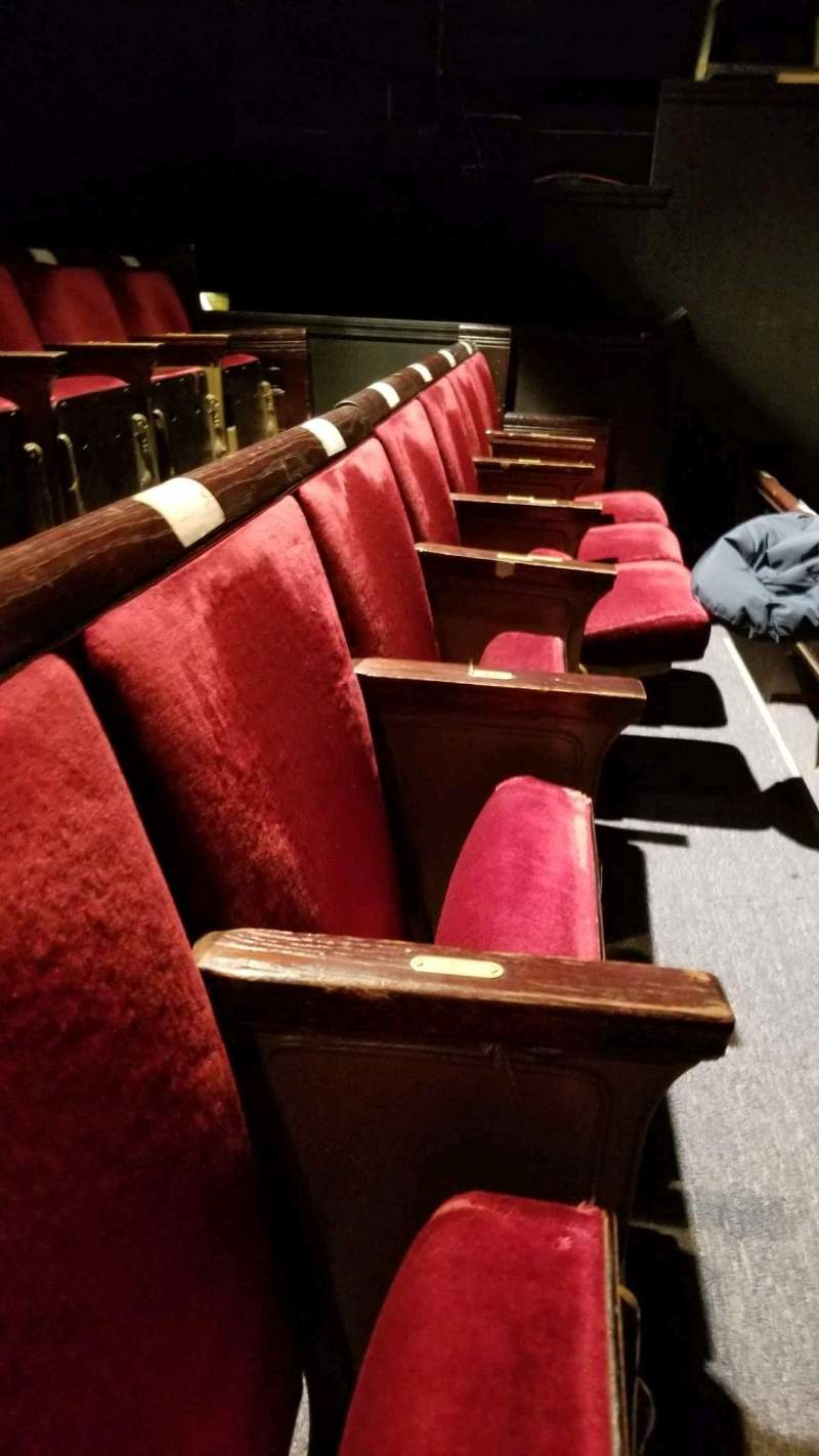 Seating view for West End Theatre (New York)