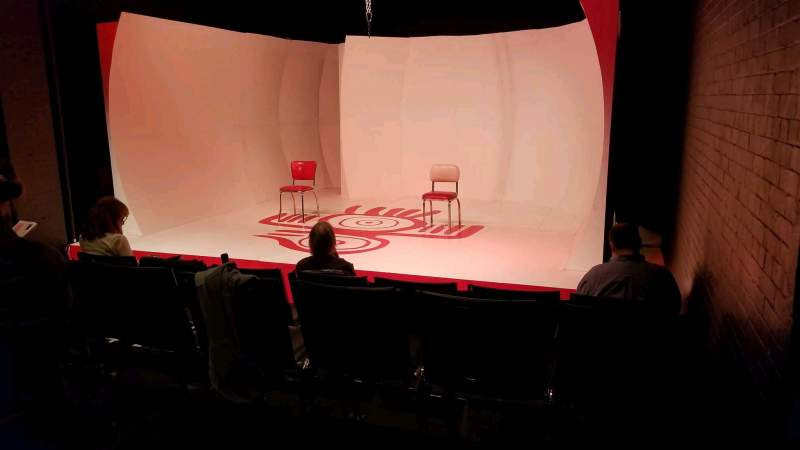 Seating view for TBG Theatre