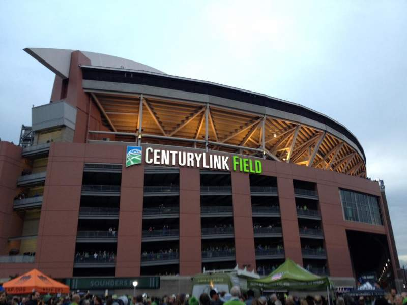Seating view for CenturyLink Field