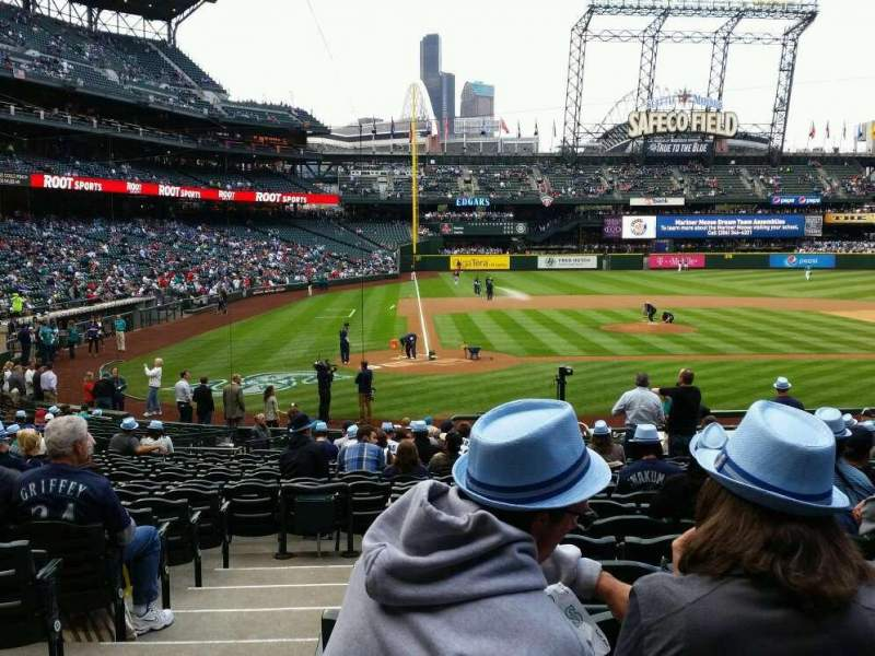 Seating view for Safeco Field Section 125 Row 26 Seat 11