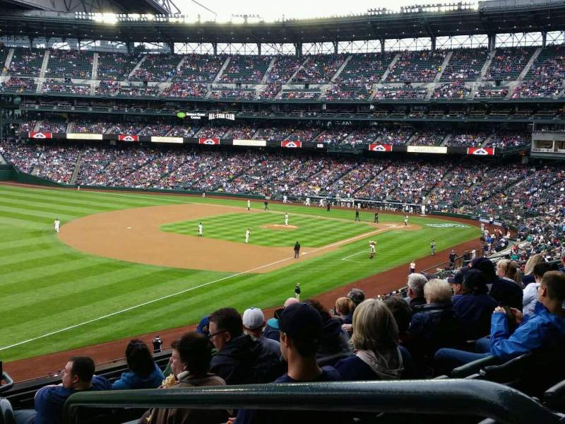 Seating view for Safeco Field Section 246 Row 7 Seat 1