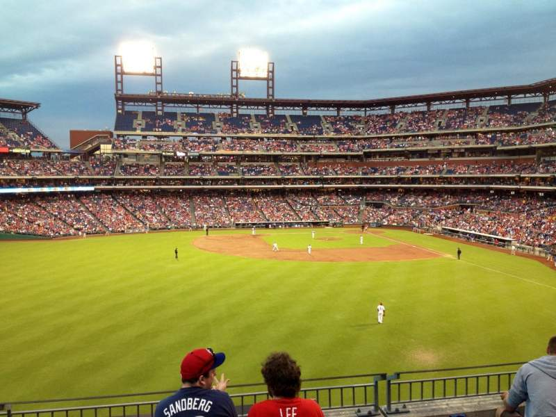 Seating view for Citizens Bank Park Section 244 Row 5 Seat 15