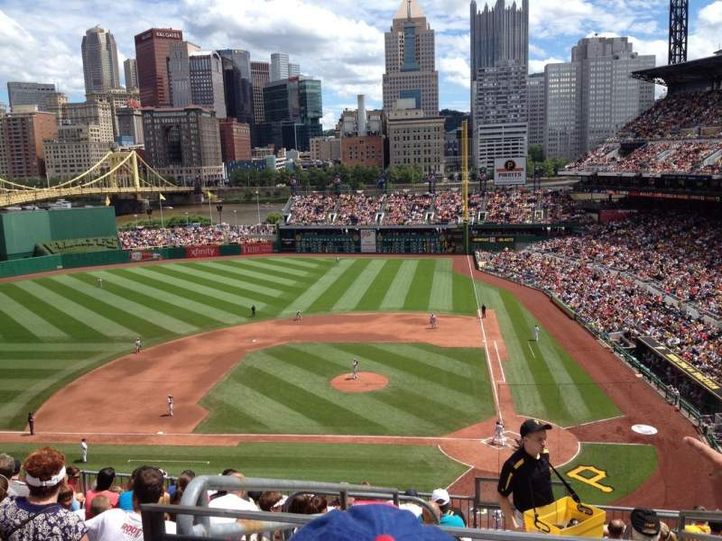 Seating view for PNC Park Section 220 Row K Seat 21