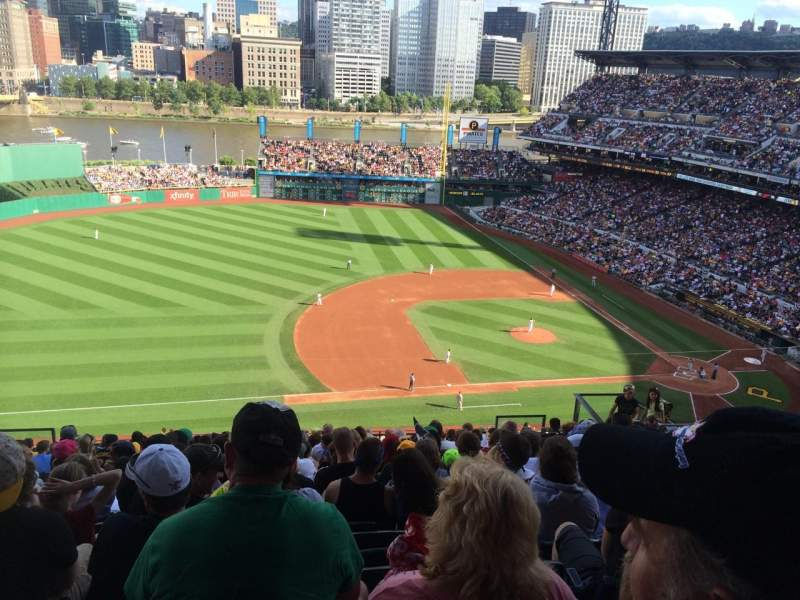 Seating view for PNC Park Section 325 Row V