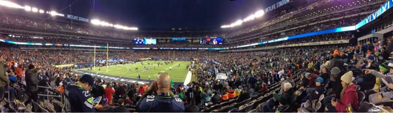 Seating view for MetLife Stadium Section 148 Row 27 Seat 23
