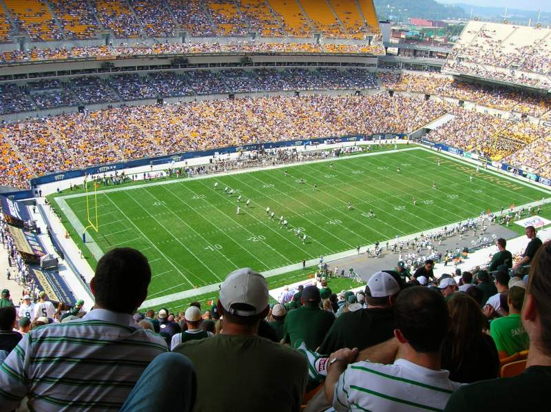 Seating view for Heinz Field Section 504