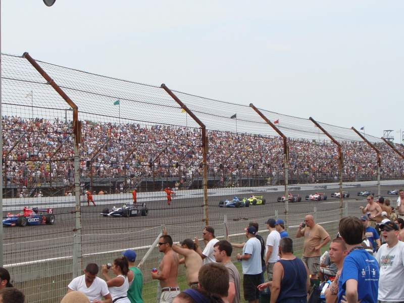 Seating view for Indianapolis Motor Speedway Section General Admission Row Turn 4