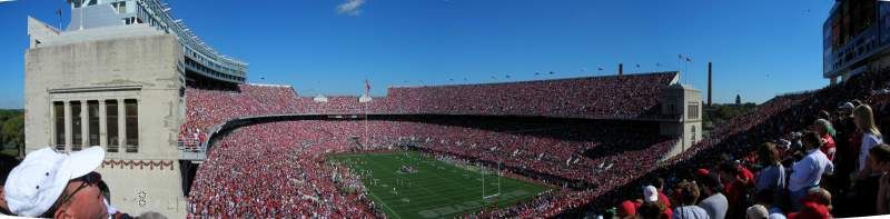 Seating view for Ohio Stadium Section 31B