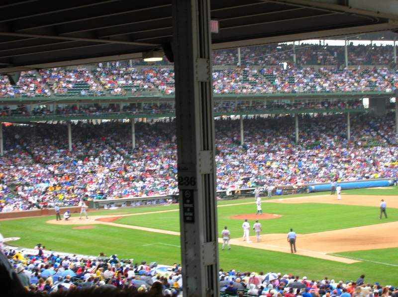 Seating view for Wrigley Field Section 239 Row 27 Seat 6