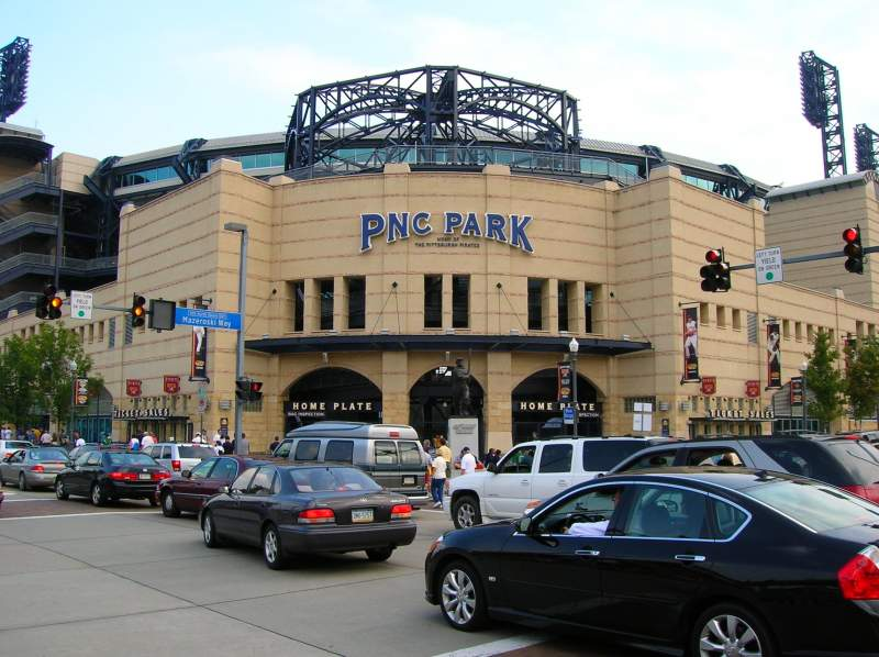 Seating view for PNC Park Section Outside