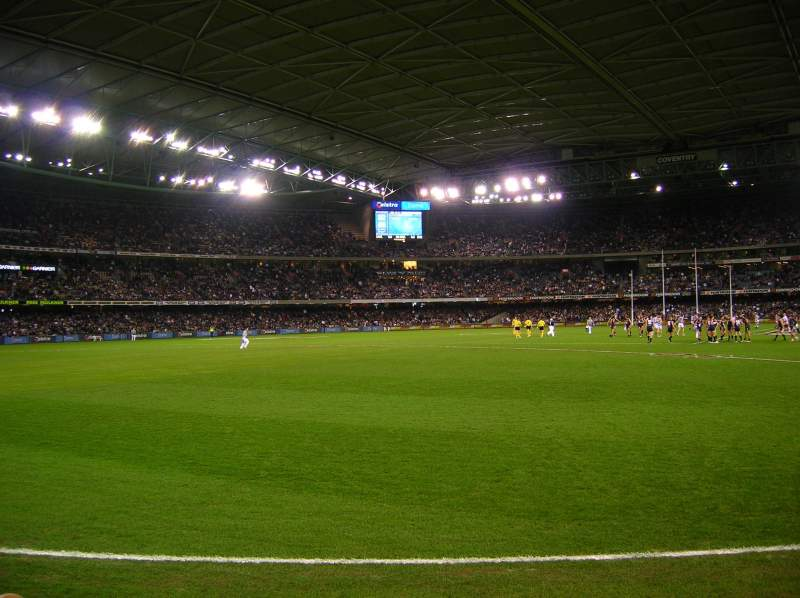 Seating view for Etihad Stadium (Melbourne) Section L1 22 Row F Seat 44