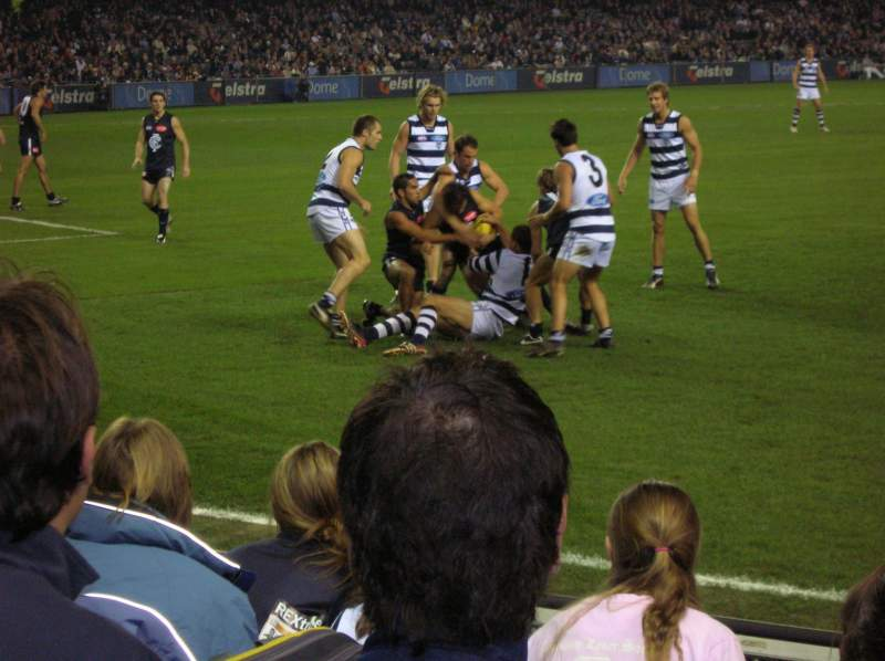 Seating view for Docklands Stadium Section L1 22 Row F Seat 44