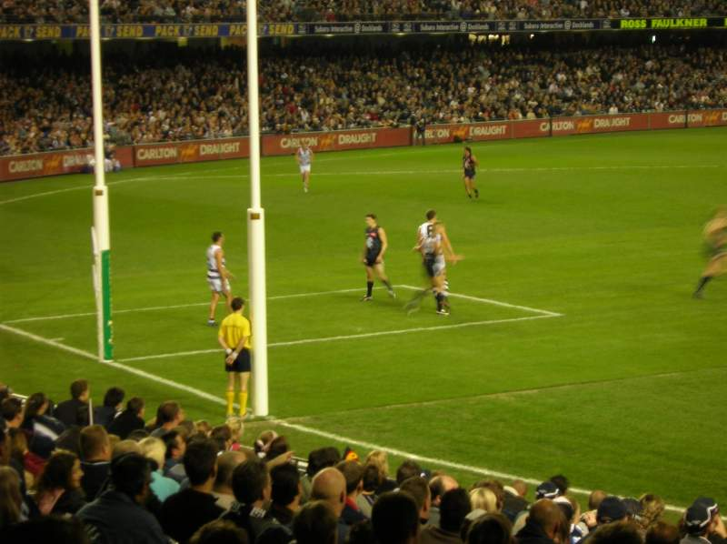 Marvel Stadium Section L1 22 Row F Seat 44 Carlton Football Club Vs Geelong Cats Shared By Spartan23