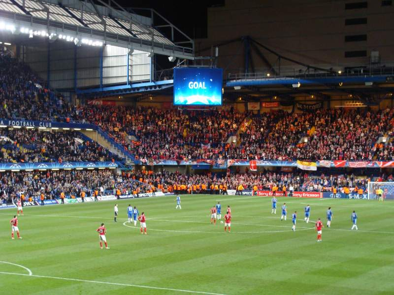 Seating view for Stamford Bridge Section Matthew Harding Lower Row AA Seat 328